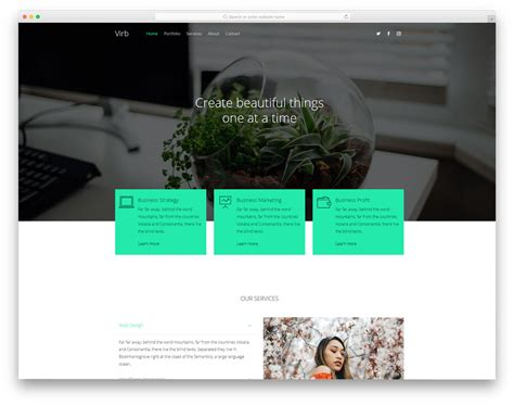 virb templates 20 best free website templates for present day