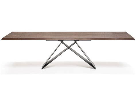 drive table cattelan italia premier wood drive extending dining table