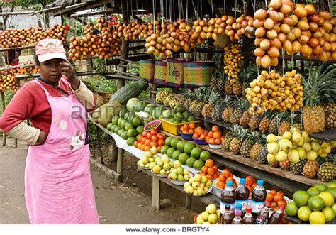 fruit vendor vendor selling fruit africa stock photos vendor selling