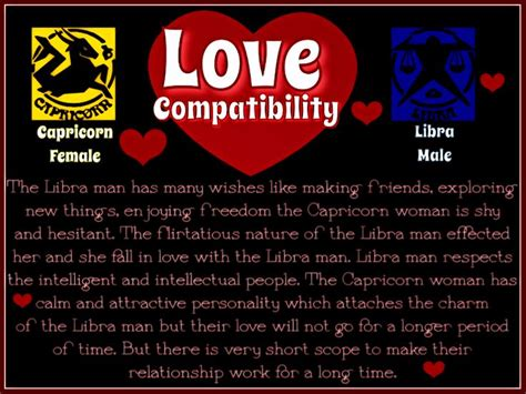 love compatibility capricorn female libra male i am