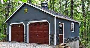 How To Build A 2 Car Garage build site garage 2 car 2 story raised roof garage with cupola and