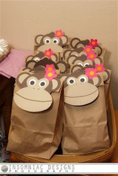 Paper Bag Monkey Craft - monkey craft idea for crafts and worksheets for