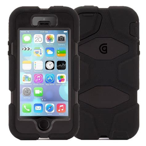 Iphone 4 4s Iphone 5 5s Griffin Survivor Slim Cover iphone 5 5s se griffin survivor black