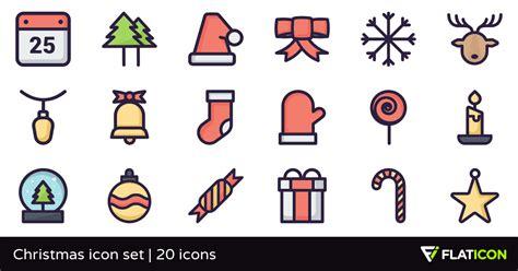 Chrismast Ikon icon set 20 free icons svg eps psd png files