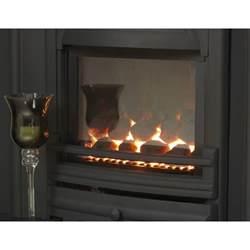 gas fireplace open flue integra slimline multi flue inset gas