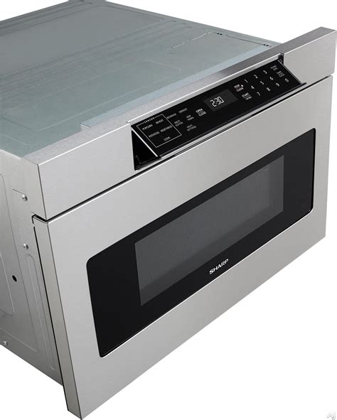 24 Sharp Microwave Drawer by Sharp Smd2470as 24 Quot Microwave Drawer With 1 2 Cu Ft
