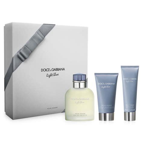 d g light blue mens d g light blue 3 pcs gift set for fragrancecart com