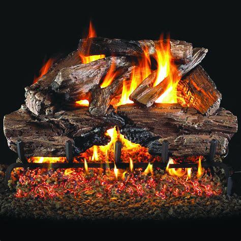 peterson gas logs 18 inch charred cedar logs logs only