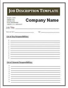 job description blank templates video search engine at