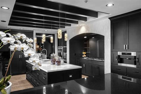 modern kitchen and great room remodel morris county nj sjc dramatic remodel contemporary kitchen orange