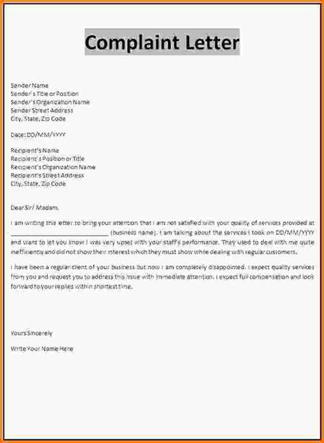 Complaint Letter Meaning complaint template zoro blaszczak co