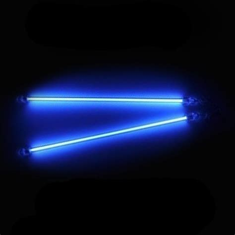 Volt Lighting by 2 Blue Neon 20 Quot 12 V Volt Lights Rods Car Interior
