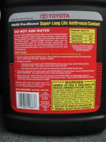 Antifreeze For Toyota 301 Moved Permanently