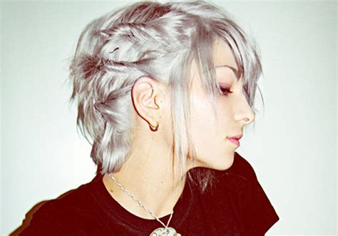 funky short fringes 25 excellent funky short hairstyles creativefan
