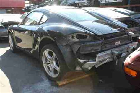 porsche cayman chassis find used 2009 porsche cayman base rolling chassis project
