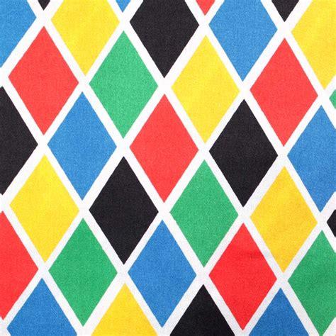 How To Home Decoration by Tissu Arlequin Satin De Carnaval Multicolore Merceriecarefil Com