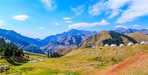 heavenly mountaintian shan xinjiang tianshan mountain