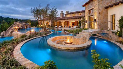15 Ideas For Daunting Mediterranean Pool Designs Home