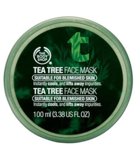 Tea Tree Mask 100ml the shop tea tree mask 100ml buy the shop