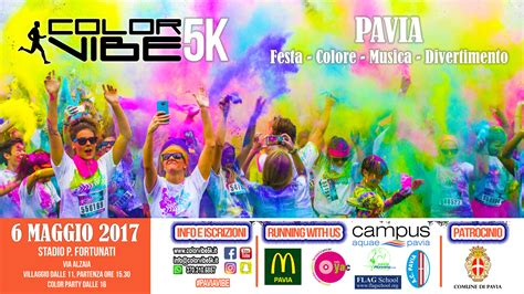flag school pavia color vibe 5k 2017 pavia 6 maggio 2017 cus aquae