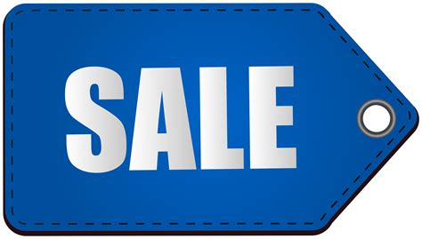 Blue For Sale by Blue Sale Tag Transparent Png Clip Image Gallery