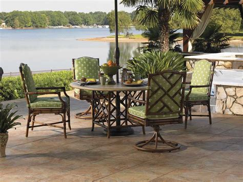 bahama outdoor dining set bahama outdoor island estate veranda aluminum dining