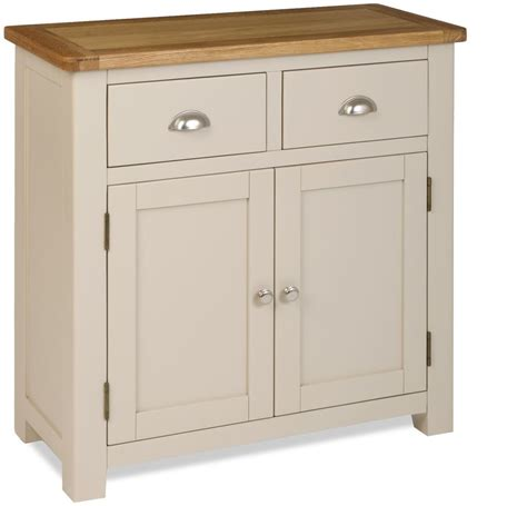 Small Sideboard Cabinet by Colour Painted Oak Compact Small Sideboard Cupboard