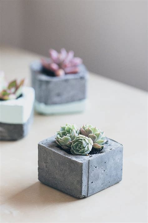 concrete diy 5 pretty little concrete diys fab fatale