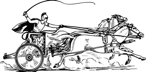 chariot template free clipart of a chariot