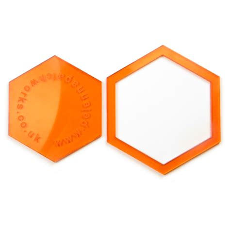1 5 inch acrylic hexagon patchwork templates pelenna