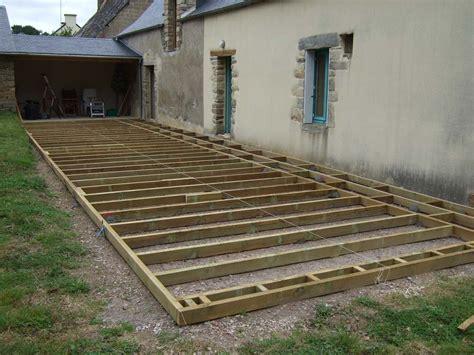 Comment Poser Une Terrasse En Composite 3668 by Pose Terrasse Composite Leroy Merlin Affordable Comment