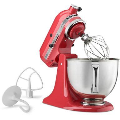 rent   kitchenaid ksmpswm artisan series tilt head stand mixer watermelon flexshopper