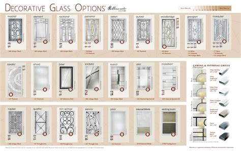 Fiberglass Teem Wholesale Door Glass Options