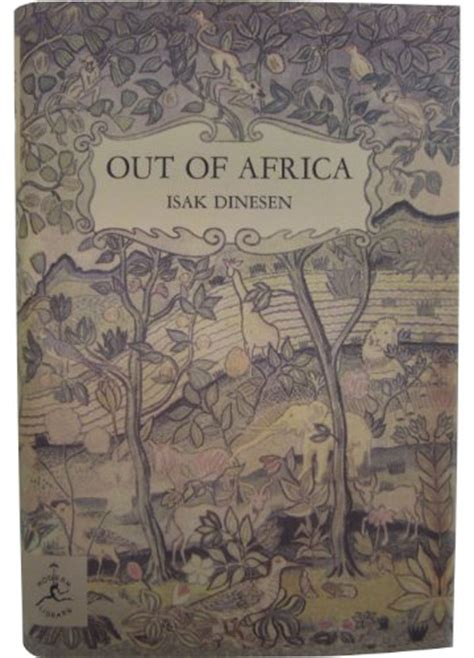 Out Of Africa Modern Library 100 Best Nonfiction Books