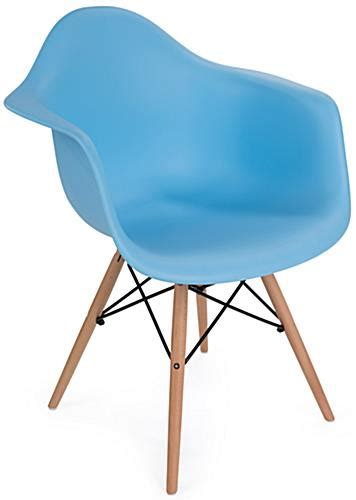 Eames Style Plastic Chair by Eames Style Plastic Designer Chair Eiffel Wood Base