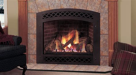 gas fireplace logs with blower monessen series direct vent fireplaces