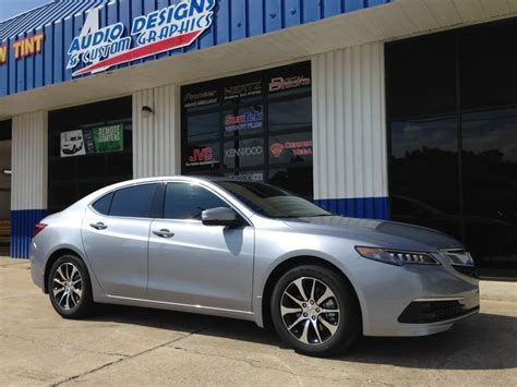 acura tlx window tint project for duval acura dealer
