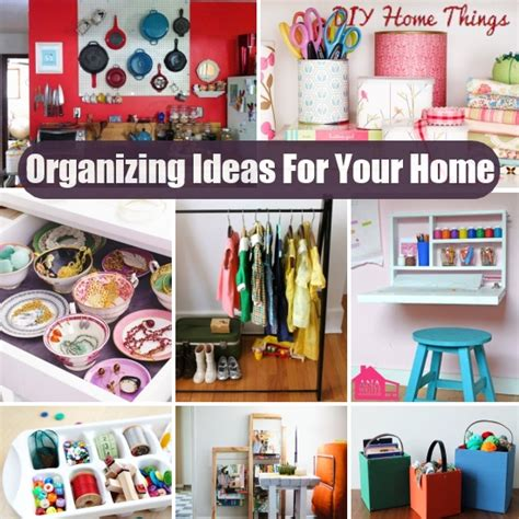 organizing home ideas 38 unique diy organizing ideas for your home diy home things