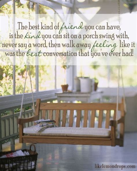 sit on front porches and swing life away quotes sitting on porch swing quotesgram