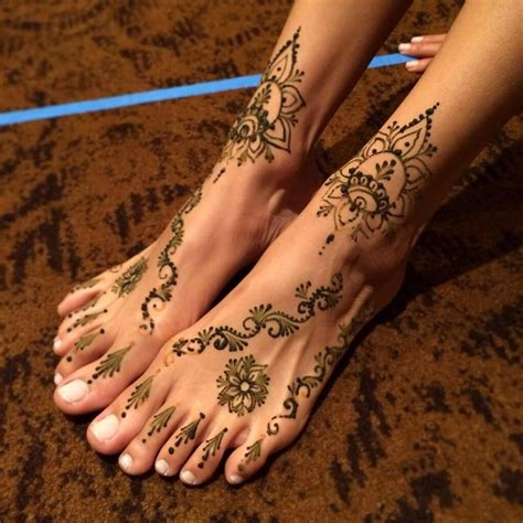 henna tattoo and showering tip putting olive or coconut a henna design