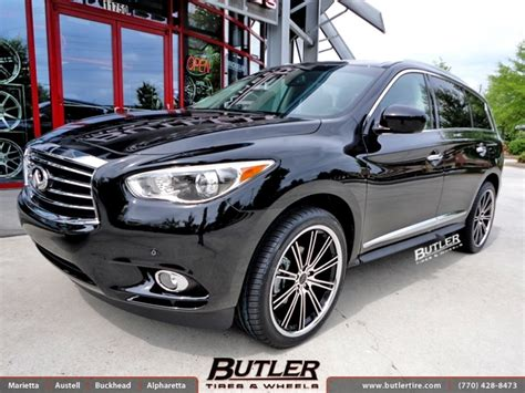 infiniti jx 56 infiniti jx35 with 22in savini bm3 wheels exclusively from