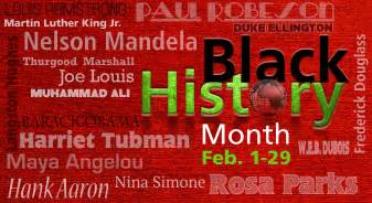 black history month colors cool groovy happy black history month 2016