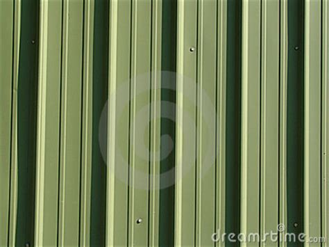green metal siding stock photography image