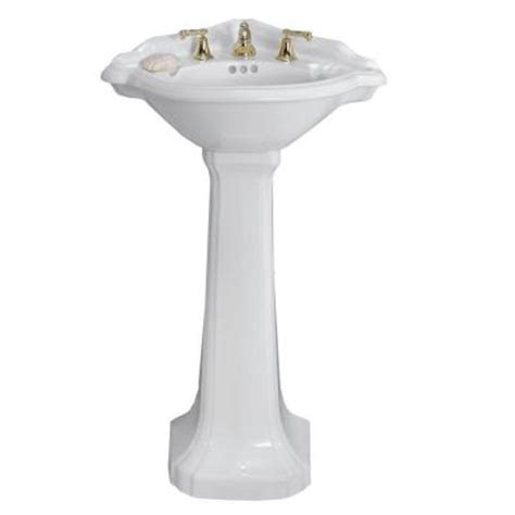Corner Pedestal Sink Kohler kohler archer pedestal bathroom sink vanitiesfunstore bathroom remodeling