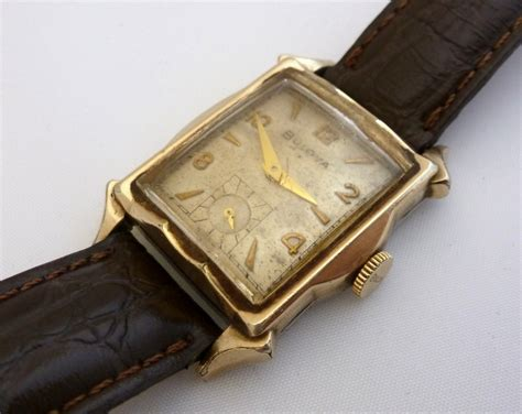 bulova vintage tank watches 1950s fancy bulova 10k rgp tank watch vintage pinterest