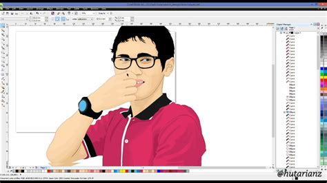 tutorial corel draw vector how to make vector art graphic coreldraw full tutorial