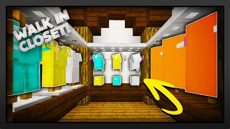 how to make a walk in closet minecraft how to make a walk in closet minecraft stream