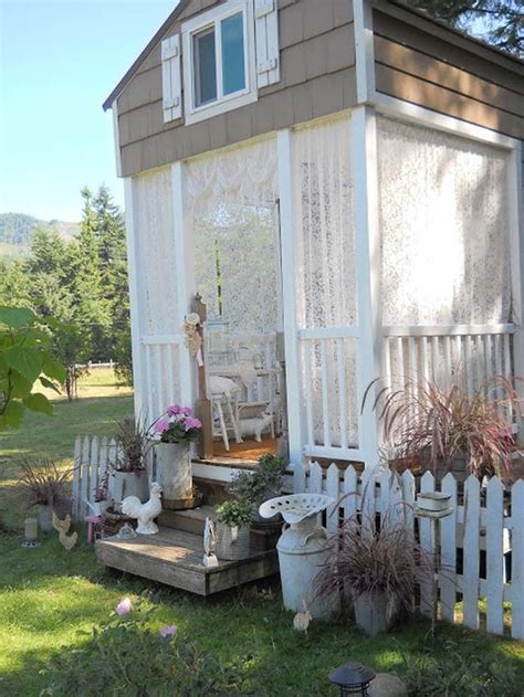 shabby chic tiny house the pretty quot shabby chic quot tiny house will inspire you to