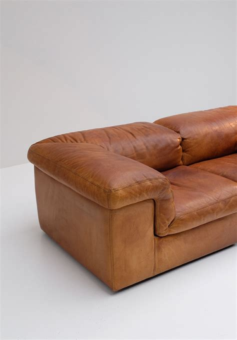 belgium leather sofas 2 seater belgian leather sofa from durlet for sale at pamono