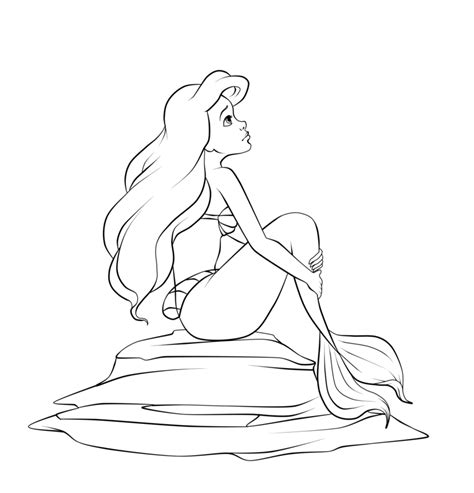 princess ariel coloring pages disney princess ariel coloring pages coloring home